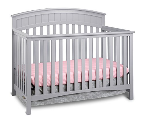 Graco charleston convertible crib pebble gray baby shop for Best value baby crib