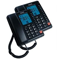 Beetel M78 Corded Feature Phone (Black)