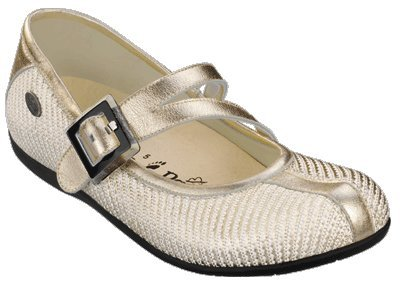 Papillio walking-shoes Luton from Cordura/Leather in Champagner with a narrow insole size 36.0 N EU