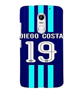 PRINTVISA Football Diego Costa Case Cover for LENOVO VIBE X3