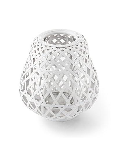 Atipico Lanterna Portacandela Bamboo Savana Cm Ø 28Xh 29