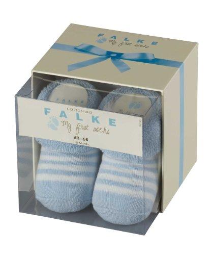 FALKE Erstlingsringel 10040 Unisex - Baby Babybekleidung/ Söckchen, Gr. 50/56, Blau (powderblue )