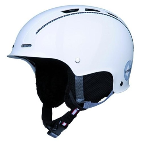 Skihelm und Fahrradhelm Casco CX-3 titan-weiss incl. Hardcase, Größe M (56 bis 59cm Kopfumfang)
