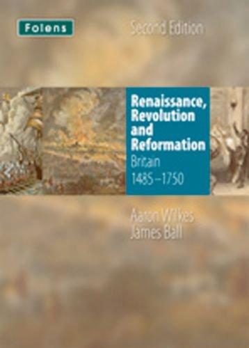 Folens History: Renaissance, Revolution & Reformation