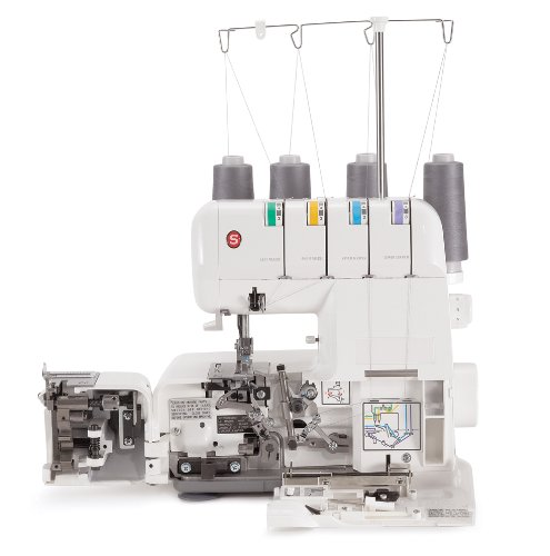 singer 14j250 stylist ii serger overlock machine with 2 3 4 thread capability and differential. Black Bedroom Furniture Sets. Home Design Ideas