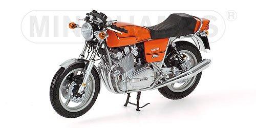 LAVERDA JOTA 180 1978 ORANGE METALLIC Diecast Model Motorcycle in 1:12 Scale by Minichamps