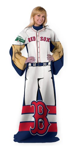 Boston Red Sox Snuggie Blanket SoxBlanket With