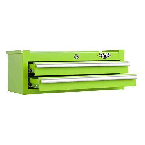 Viper Tool Storage V2602ICLG 26-Inch 2-Drawer 18G Steel Intermediate Tool Chest, Lime Green (Toolbox Green compare prices)
