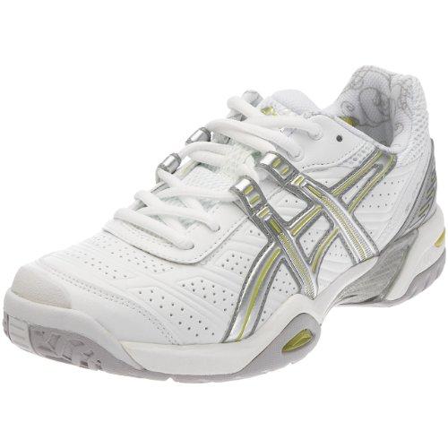 Asics Women's Gel-Challenger Court White/Lightning/Lime E951Y0193 5 UK