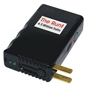 The Runt 4.5 Million Volt Stun Gun (Rechargeable)