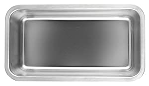 Fox Run Stainless Steel Loaf Pan, 4.5 Inch x 8.5 Inch x 2.5 Inch