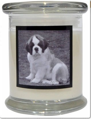 Aroma Paws 363 Breed Candle 12 Oz. Jar - Saint Bernard