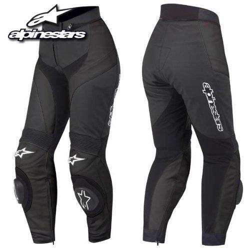 Alpinestars GP Plus Lederhose, Farbe schwarz, Größe 56
