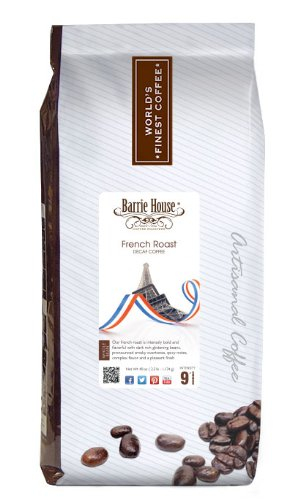 Barrie House French Roast Coffee (Decaf French Roast, 2.5 LB)