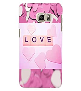 ColourCraft Love Design Back Case Cover for SAMSUNG GALAXY S6 EDGE PLUS
