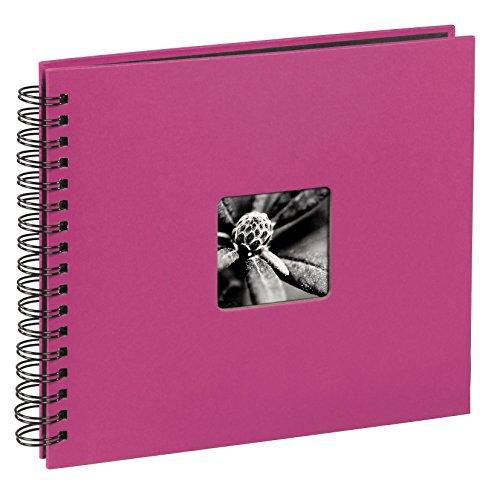 Hama Fine Art 00010608 Album a spirale per foto, 36x32 cm, 50 pagine, colore: Rosa