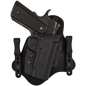 Amazon com comp tac spartan holster 1 5 quot black standard clips