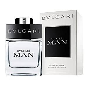 Bvlgari Man Eau de Toilette Spray for Men, 3.4 Fluid Ounce