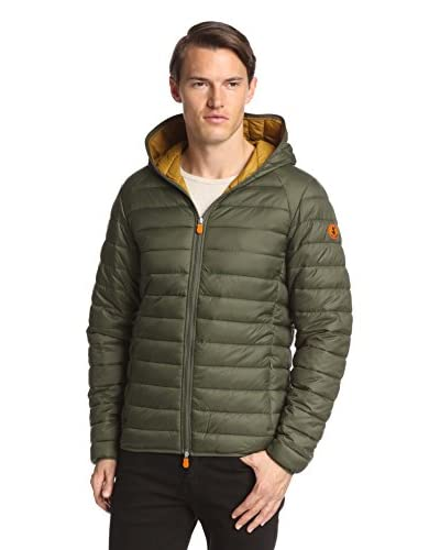 Save the Duck Men's Giga Puffer Hoodie Jacket