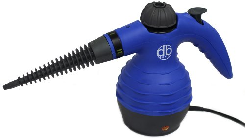DB-Tech Multi-Purpose Pressurized Steam Cleaning and Sanitizing System with Attachments - Great Handheld Steam Cleaner For Bed Bug Treatment - Indoors, Outdoor, Kitchen, Bathroom, Shower, Closet, Patio, Garage and Car
