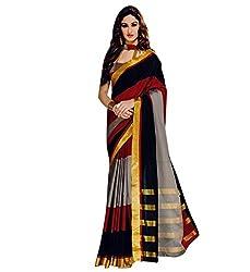 Magneitta Women Designer Wedding Sari Party Wear Latest Saree(Aura - delsey)