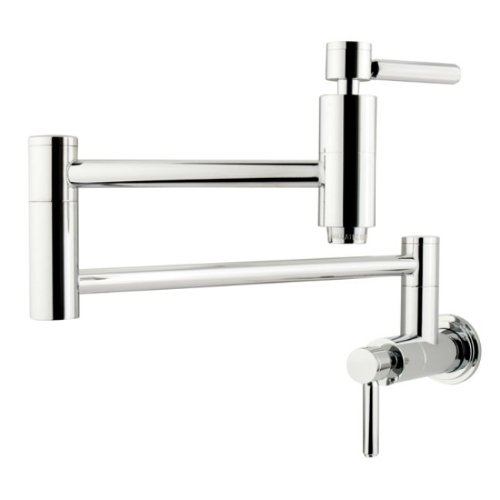 Great Features Of Kingston Brass KS8101DL Concord Pot Filler , Polished Chrome