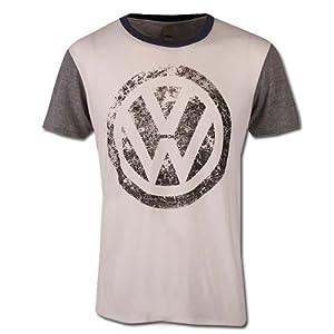Amazon.com: Genuine Volkswagen Eco-Friendly Color Block T-Shirt - Size