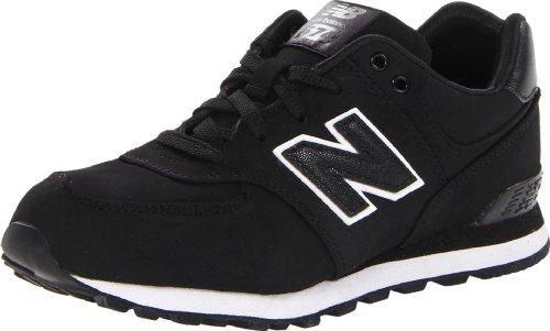 New Balance Kl574 Classic Pre Running Shoe (Little Kid),Black,12 M Us Little Kid front-1037942
