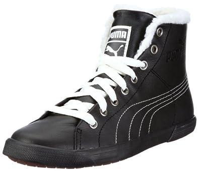 Puma Benecio Mid Fur WTR 352385, Unisex - Erwachsene Klassische Sneakers, Schwarz (black 01), EU 40 (UK 6.5) (US 7.5)
