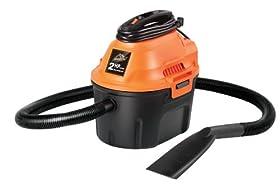 ArmorAll AA255 Utility Wet/Dry Vacuum, 2.5 gallon, 2 HP