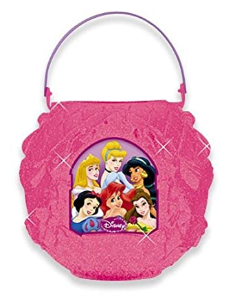 Iridescent Disney Princess Folding Pail,No Size