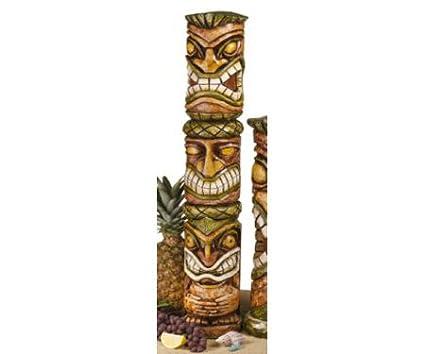 Outdoor Tiki Statues Moai Haku Pani Tiki Statue