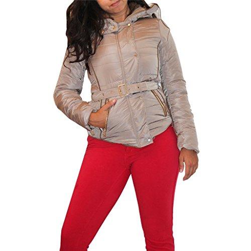 Waooh - Short Jacket With Hood Etiza - Beige, M
