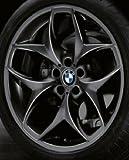 Original BMW Alufelge X6 F16 Doppelspeiche 215 schwarz in 21