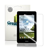 """GreatShield Ultra Smooth Clear Screen Protector Shield Film for Asus MeMO Pad ME172V 7"""" Inch Tablet (3 Pack) - Lifetime Replacement Warranty by GreatShield"""