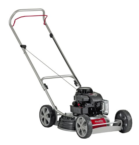 AL-KO Silver 460 B Bio 119178 Petrol Mulch Lawnmower 2-In-One-Function