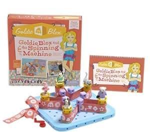 Goldie Blox and The Spinning Machine, belt, today, set, toy, machine, amazon, spinning, store, spin bébé, nourrisson, enfant, jouet