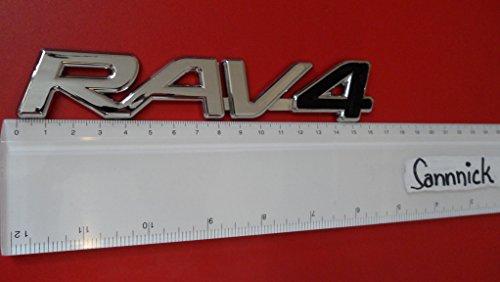 TOYOTA RAV4 BLACK Noir Motor ABS BADGE EMBLEM CAR AUTO VOITURE ABZEICHEN EMBLEME STICKER CHROME DECAL DECO LOGO uk