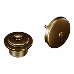 Moen T90331AZ Tub and Shower Drain Cover, Antique Bronze