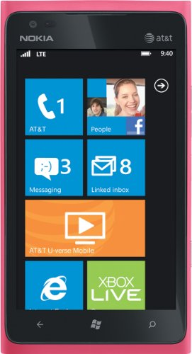 nokia lumia 900 4g windows phone pink at t reviews nokia lumia 900 4g