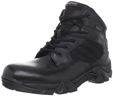 Bates Men's Gx-4 GTX Work Boot,Black,7 M US