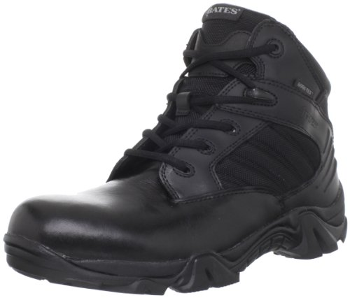 Bates Men's GX-4 4 Inch Ultra-Lites GTX Waterproof Boot, Black, 15 M US