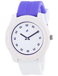 Fastrack Analogue White Dial Men Watch - (ND3062PP09)