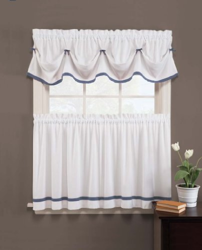 Kate 58 x 13 Valance, Blue