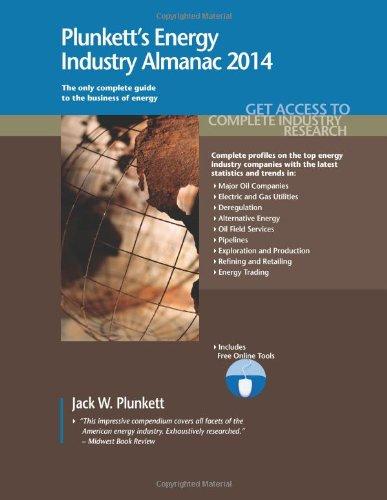 Plunkett'S Energy Industry Almanac 2014: Energy Industry Market Research, Statistics, Trends & Leading Companies (Plunkett'S Industry Almanacs) front-416404