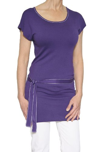 Alice & Olivia Women's Belted Tunic Top in Purple Size XS