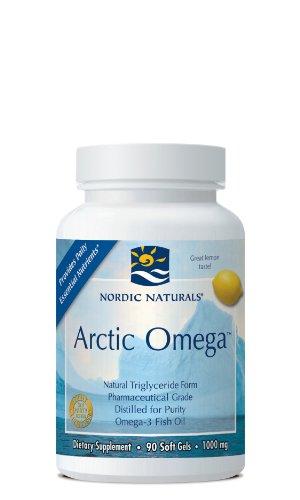 Nordic Naturals Arctic Omega Lemon Flavor - 90 Softgels