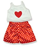 HEART PJ'S FIT 15