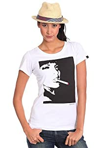 Womens Habit S/S T-Shirt white