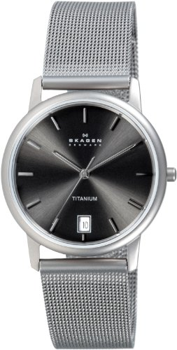 Skagen Gents Watch Slimline Titanium Stainless Steel 170LTTM